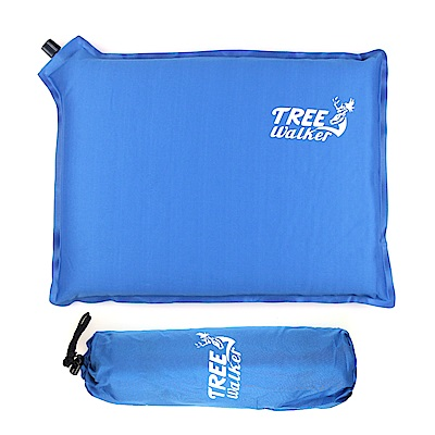 TreeWalker 多用途自動充氣墊 - 藍色