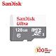 SanDisk Ultra microSD UHS-I 128GB 記憶卡-白 (公司貨) 100MB/s product thumbnail 1