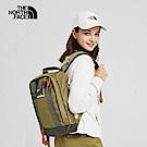 The North Face北面男女款卡其色舒適防護休閒後背包|3KYYENX