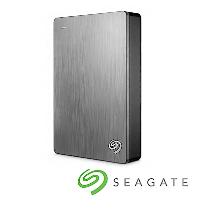 Seagate Backup Plus 5TB USB3.0 2.5吋外接硬碟-銀色