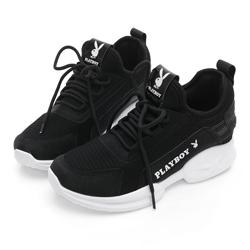 PLAYBOY 簡約風格輕量休閒鞋-黑 Y5275CC