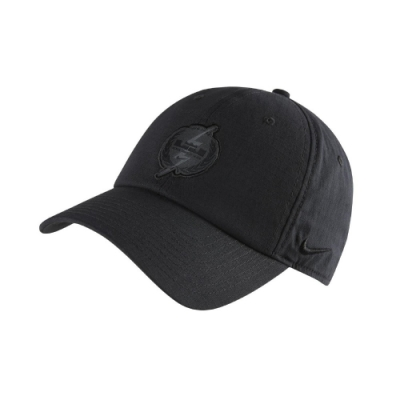 Nike 帽子 LeBron Heritage86 男女款 棒球帽 鴨舌帽 NBA 帽圍可調 基本 黑 DA1774010