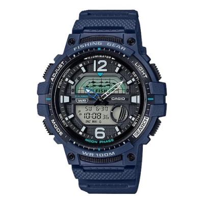 CASIO卡西歐 釣魚活動概念設計手錶(WSC-1250H-2A)