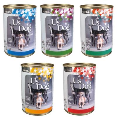 Us Dog 愛犬主食罐400克-(48罐組)