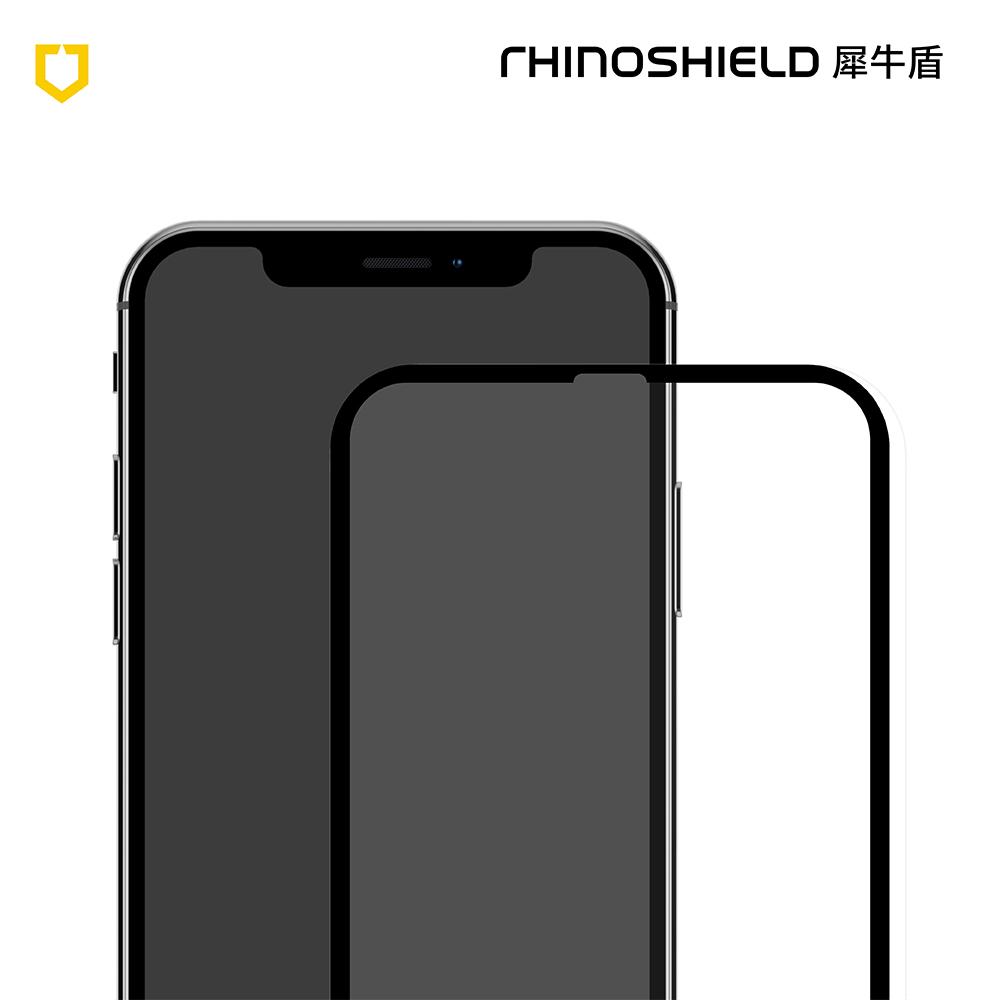 犀牛盾iPhone XR 9H 3D滿版玻璃保護貼
