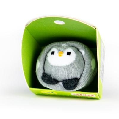 【SUKENO】超萌動物園造型兒童襪 - QQ 企鵝
