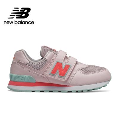 【New Balance】 復古鞋/童鞋_中性_粉紅_YV574GCP-W楦
