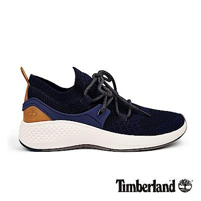 Timberland 女款海軍藍色Flyroam™ 針織布面飛型鞋|A1S1K