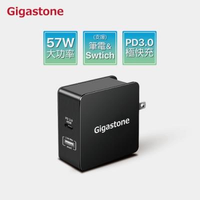 Gigastone PD-6570B USB Type-C PD3.0急速快充充電器(黑)