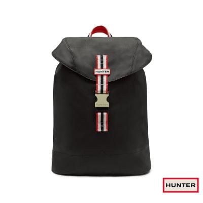 HUNTER -輕量橡膠後背包-黑