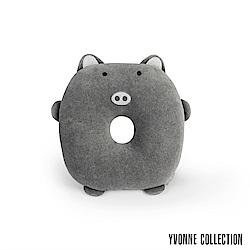 Yvonne Collection 豬豬午安枕-暗灰