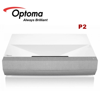 OPTOMA 奧圖碼 P2 4K UHD 超短焦 家庭劇院投影機 公司貨