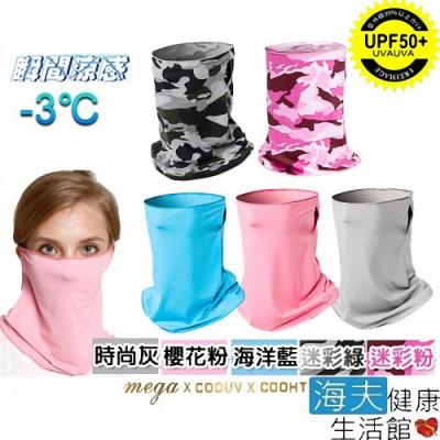 海夫健康生活館 MEGA COOUV 冰感 防曬 多功能 面罩_UV-508
