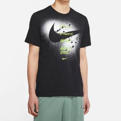 NIKE 上衣 短袖上衣 運動 慢跑 健身 男款 黑 DJ5218-010 AS M NK GRAPHIC SS TEE