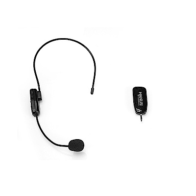 HANLIN-2.4MIC 頭戴2.4G麥克風