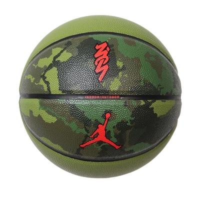 Nike 籃球 Jordan All Court 8P Zion 喬丹 飛人 7號標準球 運動 綠 紅 J100414196-507
