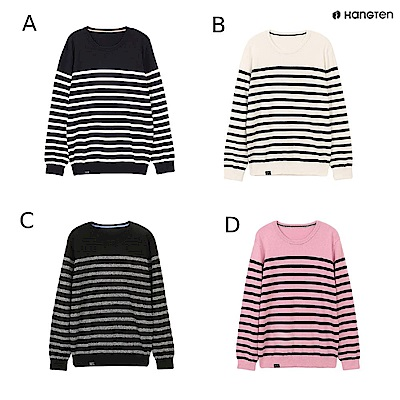 [時時樂限定] Hang Ten-男裝條紋線衫-四款選