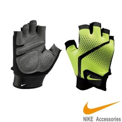 NIKE MEN S EXTREME FITNESS訓練手套 黃 NLGC4991
