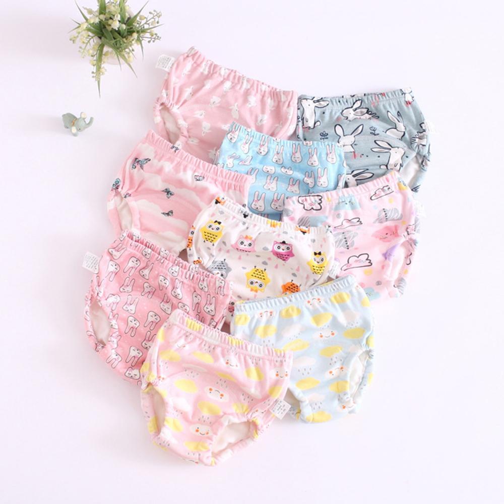 JoyNa 嬰兒尿布褲 鬆緊隔尿褲-6件入