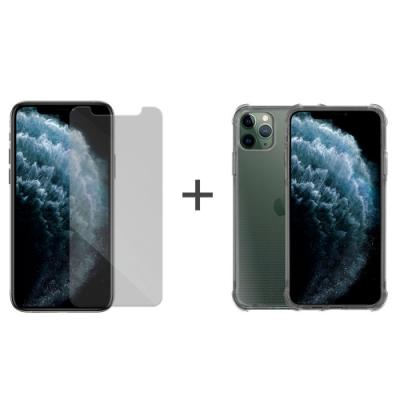 Metal-Slim Apple iPhone 11 Pro 強化防摔手機殼+玻璃貼