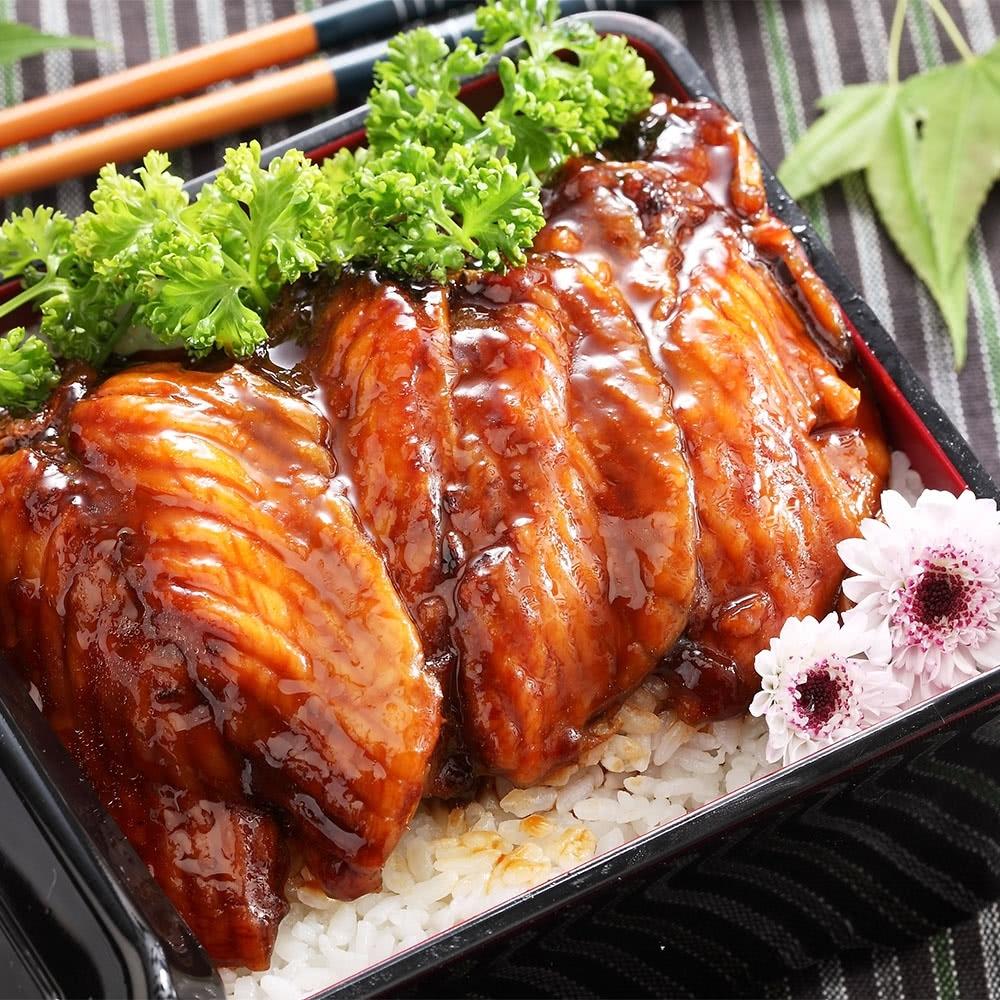 上野物產日式蒲燒鯛魚蜜汁腹排 x30片組(45g土10%/片)