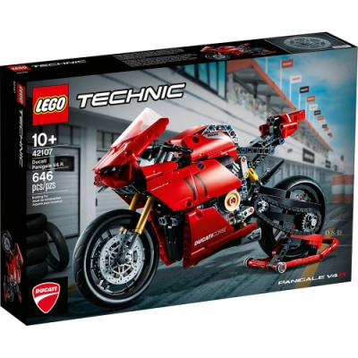 樂高LEGO 科技系列 - LT42107 杜卡迪Panigale V4 R
