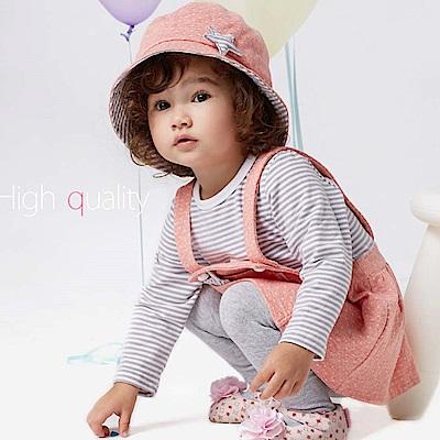 Baby unicorn 粉紅點點遮陽帽