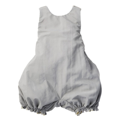 MARLMARL雙面圍裙系列 小畫家/淺灰電流