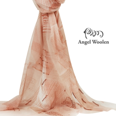 【ANGEL WOOLEN】音符印度胎羊毛手工披肩(共四色)