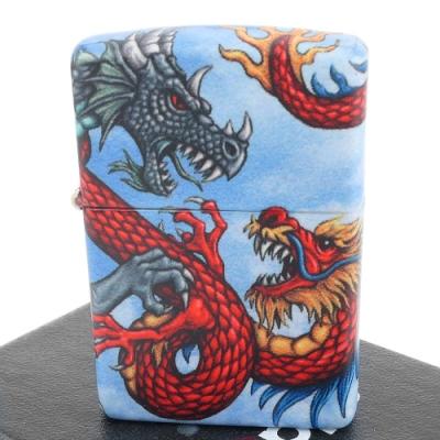 ZIPPO 美系~Dragon-中世紀龍-540色彩印工法打火機