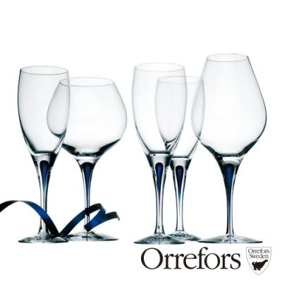 Orrefors 藍色之舞白酒杯440ml