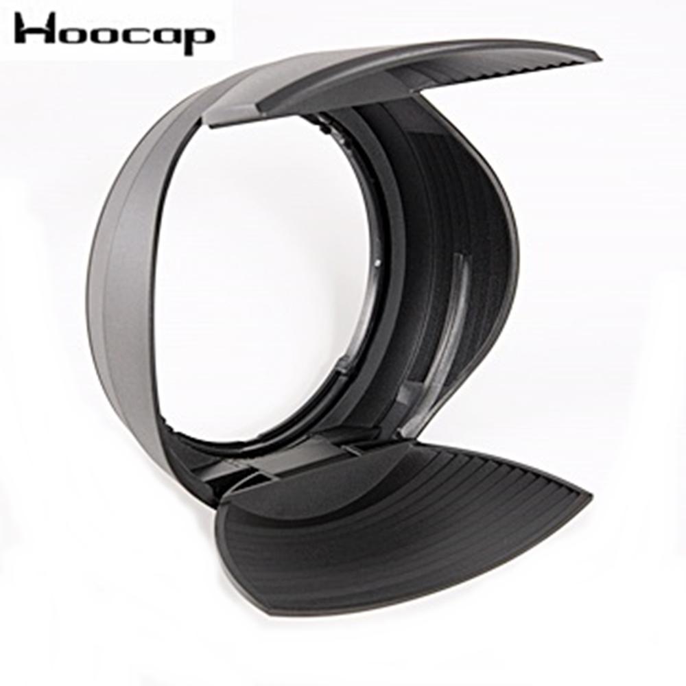 台灣HOOCAP二合一鏡頭蓋兼遮光罩R8277C,相容Canon原廠遮光罩ET-87