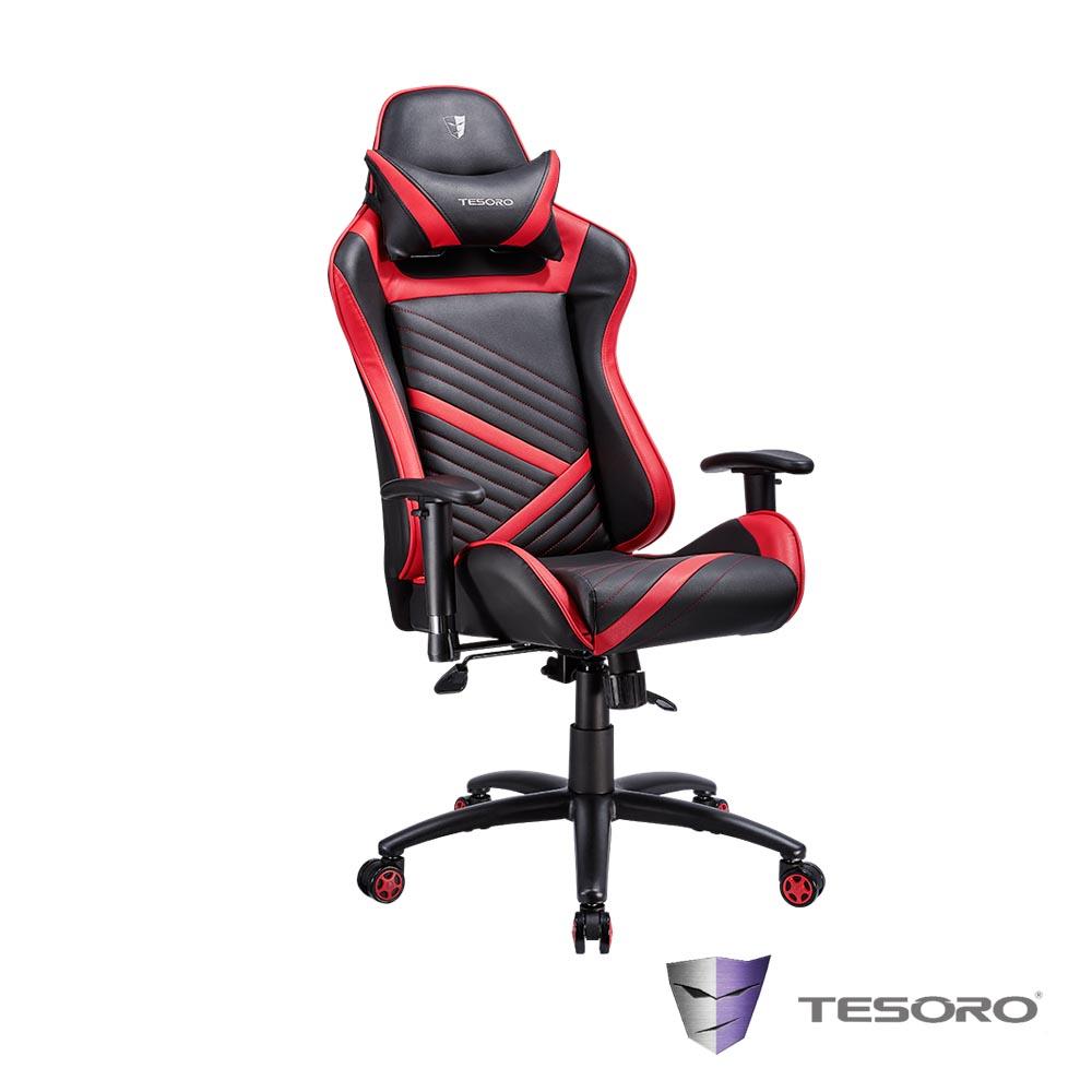TESORO鐵修羅 Zone F700 電競椅-紅