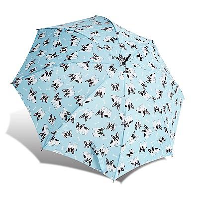 RAINSTORY  FRENCH BULLDOG抗UV自動開直骨傘