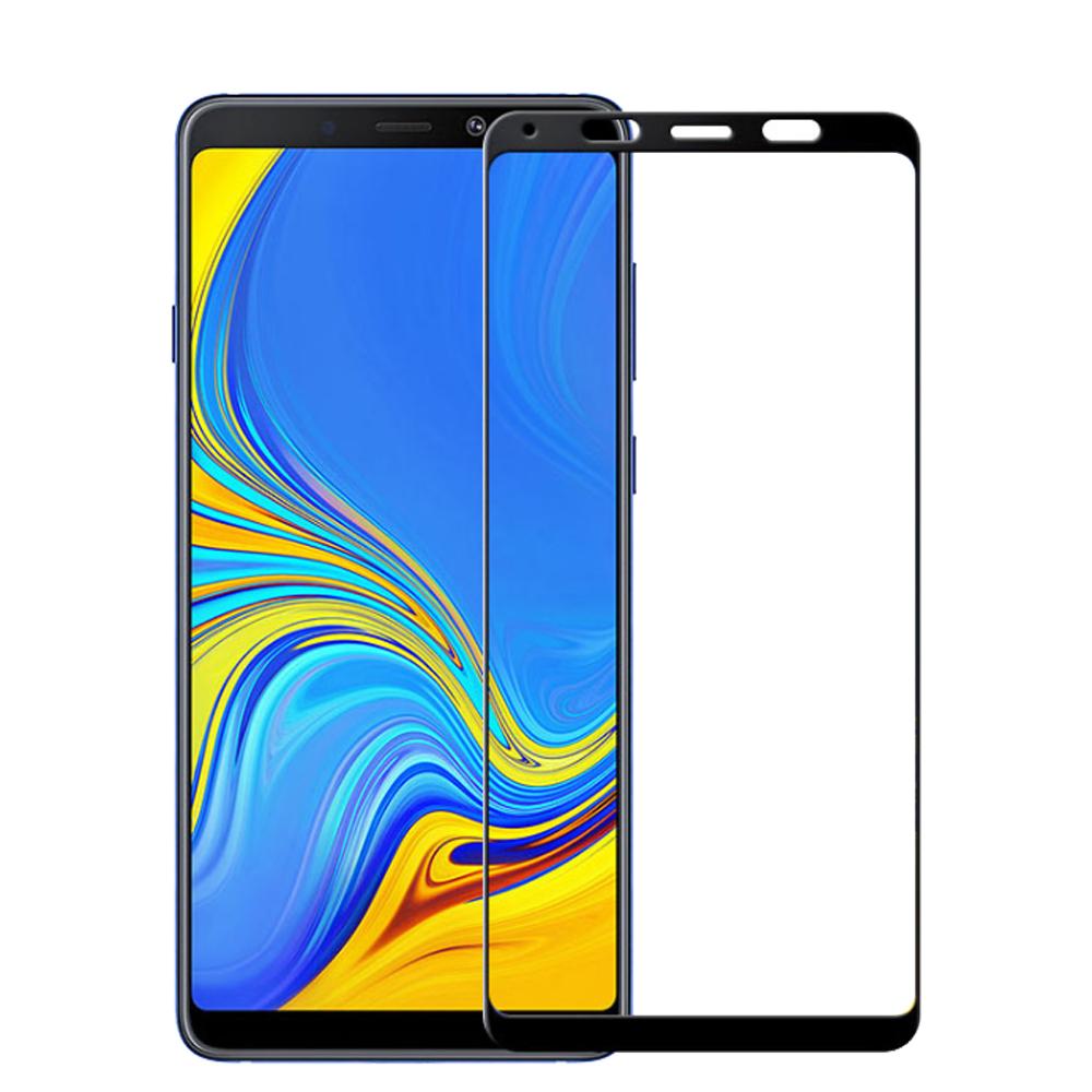 三星 A9 2018 鋼化膜 9H玻璃保護貼 全屏曲面 滿版 防爆防摔 螢屏保護貼