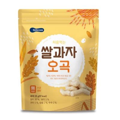 韓國 BEBECOOK 嬰幼兒米棒(穀物)