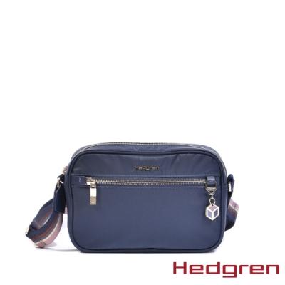 【Hedgren】CHARM經典 側背方包-夜藍(M)