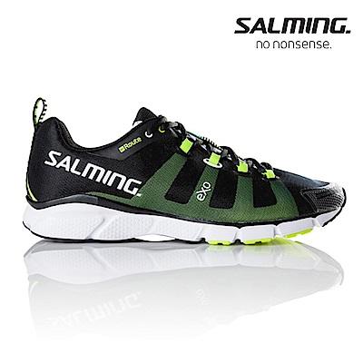Salming ENROUTE 寬楦 男訓練慢跑鞋 黑