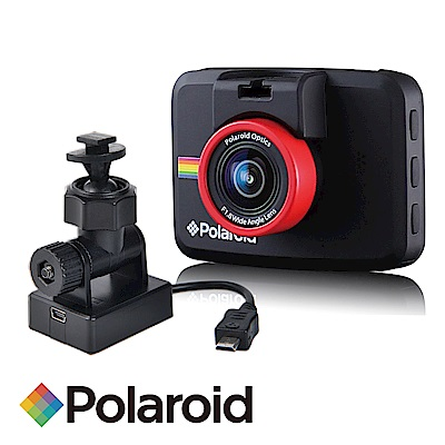 Polaroid 寶麗萊 C209 行車紀錄器+GC1專用車架型GPS天線