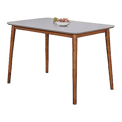 AS-愛琳胡桃3.6尺雙色餐桌110x77x74cm