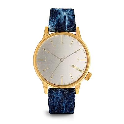 KOMONO Winston Heritage 腕錶-午時閃電/41mm