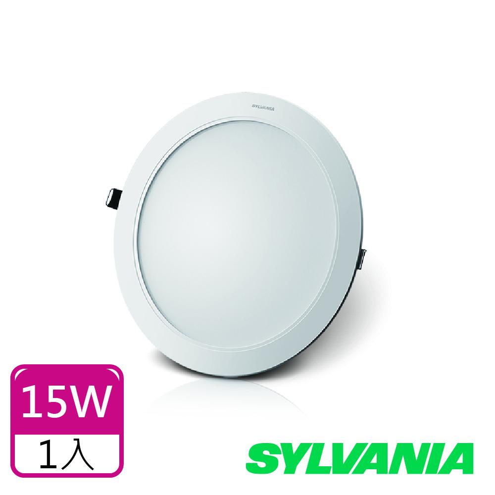 喜萬年SYLVANIA 15W LED 超薄嵌燈 全電壓_1入