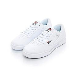 FILA 中性復古運動鞋-白 4-J327T-100