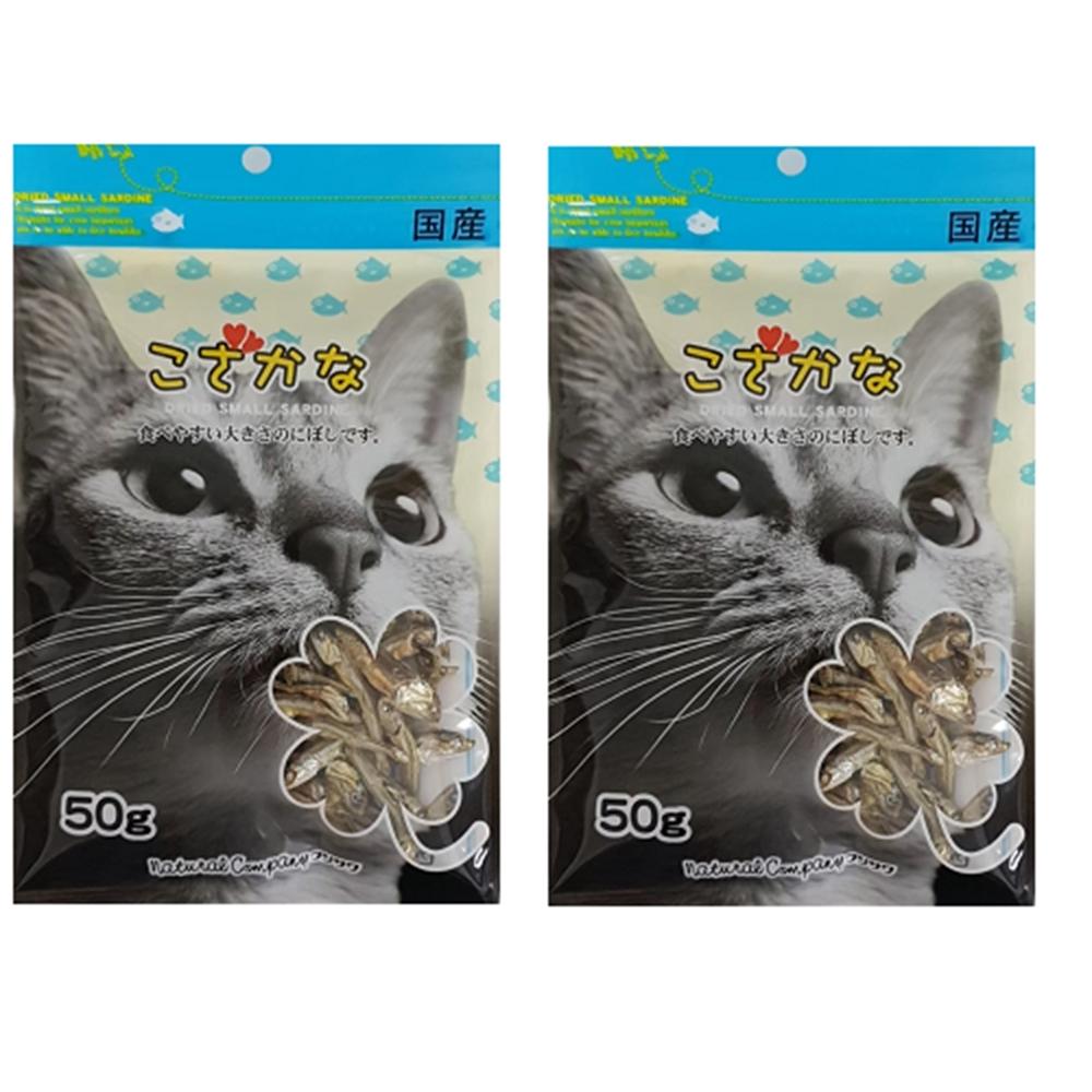 藤澤-天然小魚乾 50g四入組-愛貓用