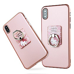 iStyle iPhone X/XS 5.8吋 Hello Kitty 粉色魅力支架手機殼