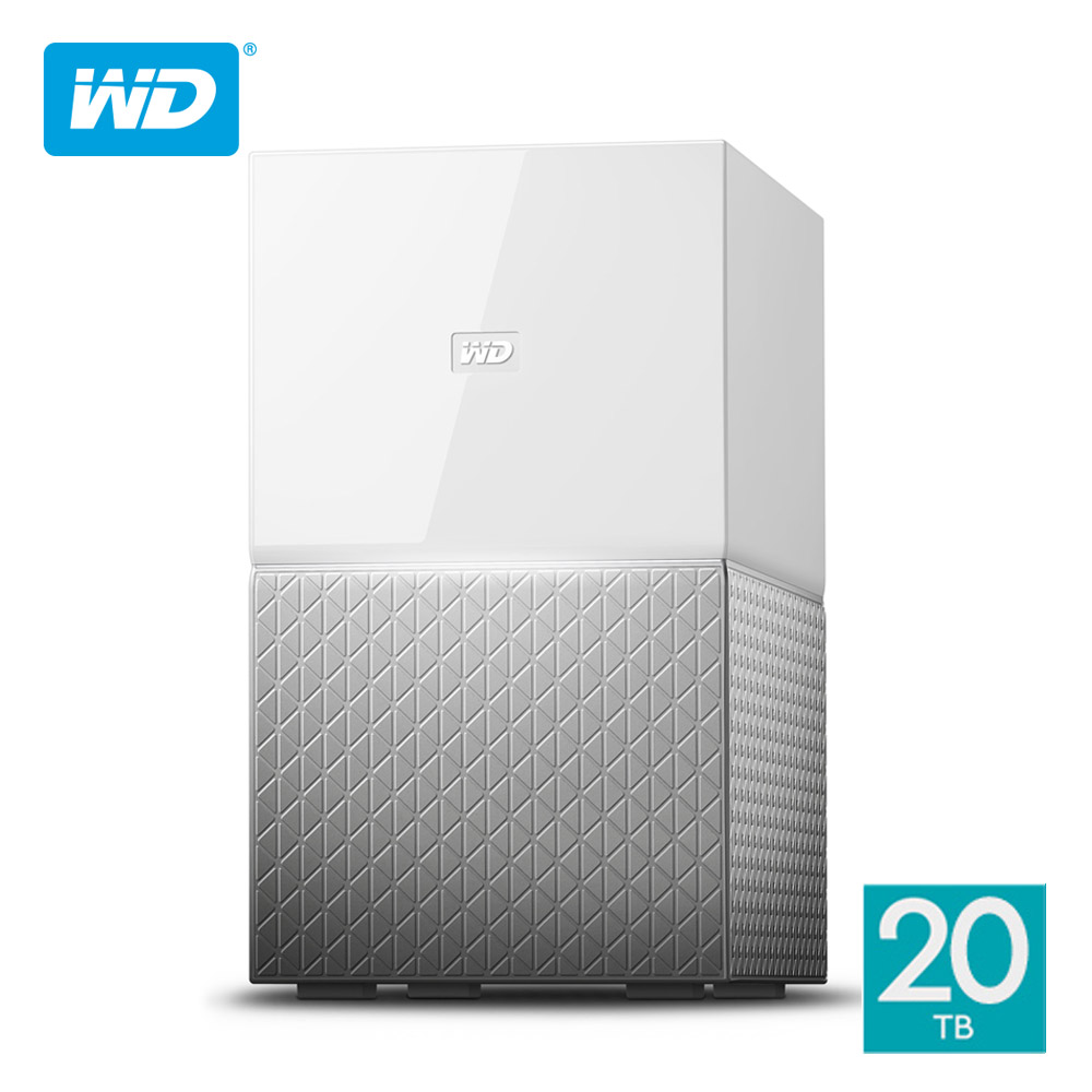 WD My Cloud Home Duo 20TB(10TBx2)3.5吋雲端儲存系統