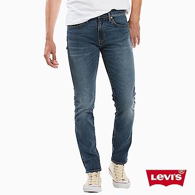 Levis 男款 511低腰修身窄管牛仔長褲 彈性布料