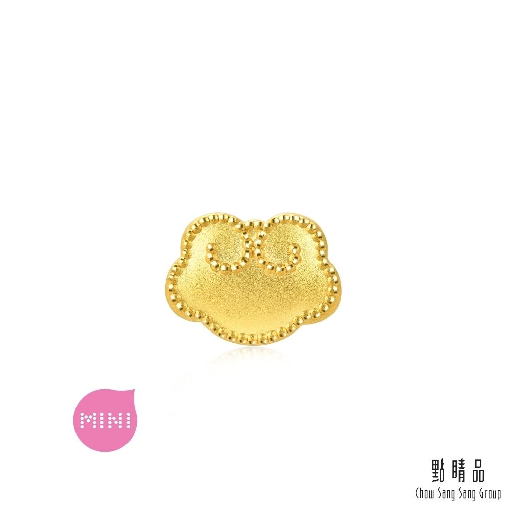 點睛品 999純金 Charme Mini 如意 黃金串珠