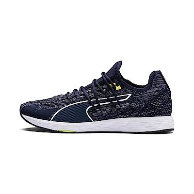 PUMA-SPEED 300 RACER男女慢跑運動鞋-重深藍