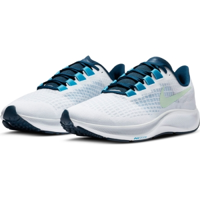 NIKE 慢跑鞋 緩震 訓練 運動鞋 男鞋 白 BQ9646101 NIKE AIR ZOOM PEGASUS 37